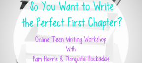 Online Teen Writing Workshop with Pam Harris & Marquita Hockaday