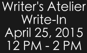 Monthly Write-In: April 25, 2015