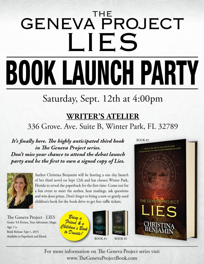 Lies Book Launch Party