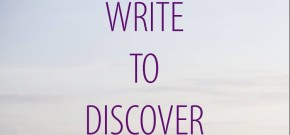 Write to Discover with Ashley Inguanta (Writing Workshop w/Feedback)