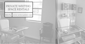 Private Writing Space Rentals at WA!