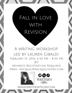Gibaldi Revision Workshop 2016