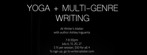 Yoga + Multi-Genre Writing with Ashley Inguanta
