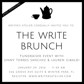 The Second Annual Write Brunch